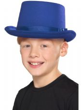 Childs Blue Top Hat